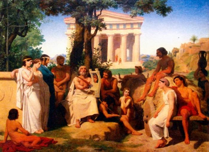Гомер   создатель греческой поэзии