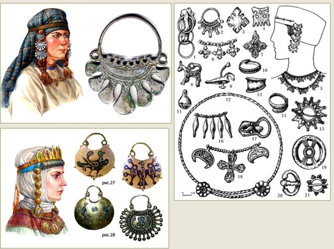 Украшения древней руси в картинках