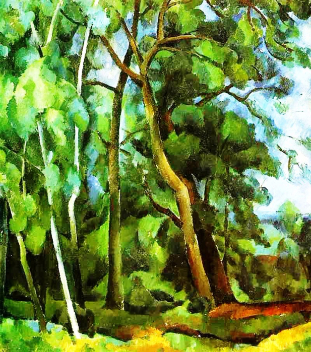 29 Александр Осмёркин «Лес в Кунцеве» (617x700, 620Kb)