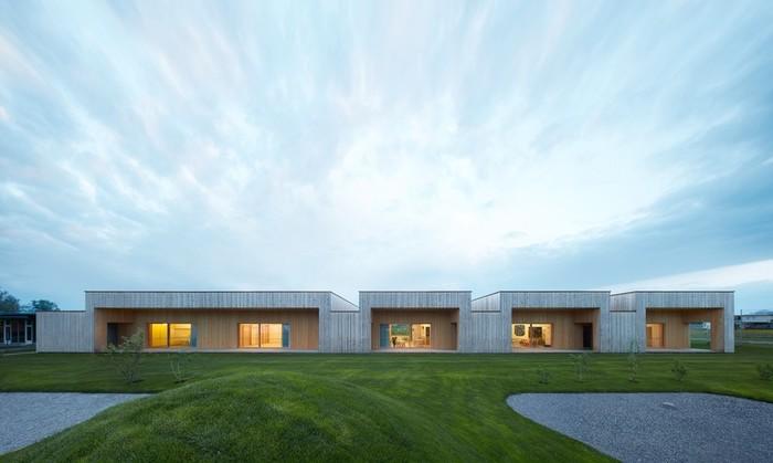 Архитектура и интерьер австрийского детского сада