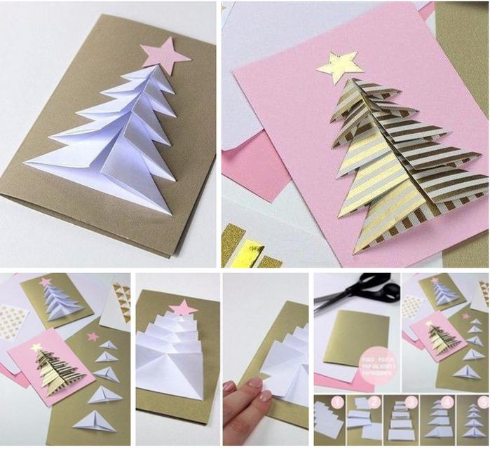 Конверт для, открытки на новый год своими руками поэтапно елочка