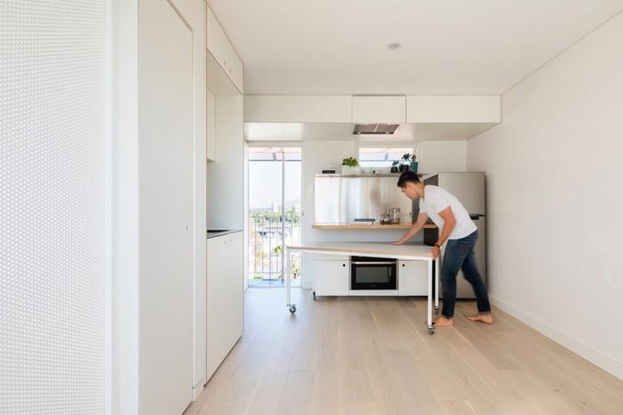 138244507 111117 0901 XXI42 Интерьер квартиры площадью 24 квадратных метра в Сиднее