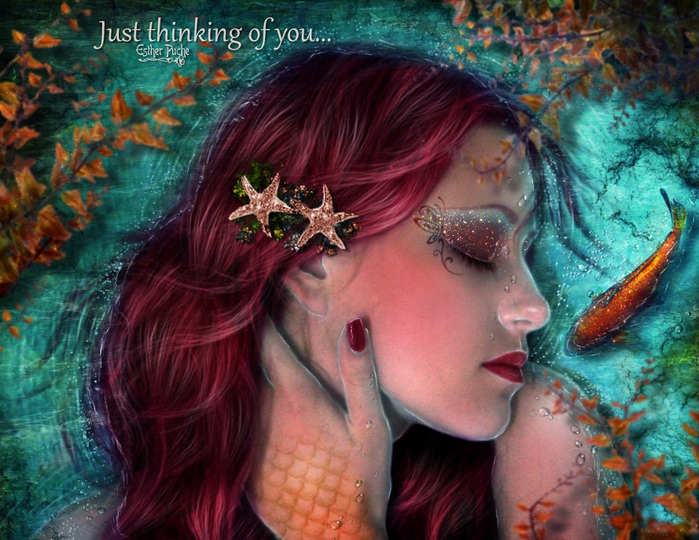 just_thinking_of_you_by_estherpuche_art-d7qsgol (700x540, 478Kb)