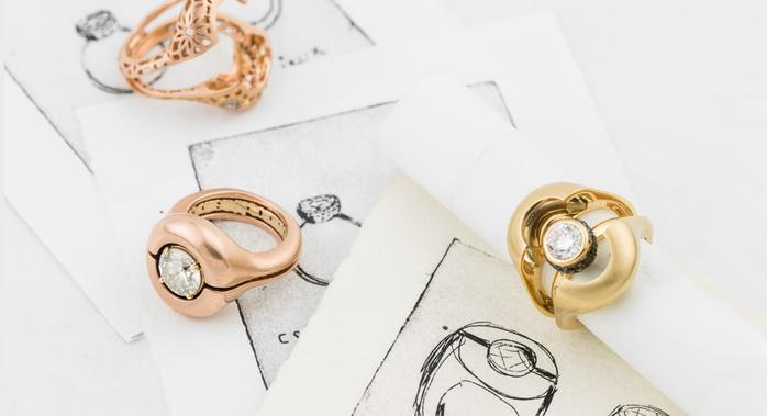 8f5951067bf2 Оригинальные обручальные кольца с секретом. Обсуждение на ...