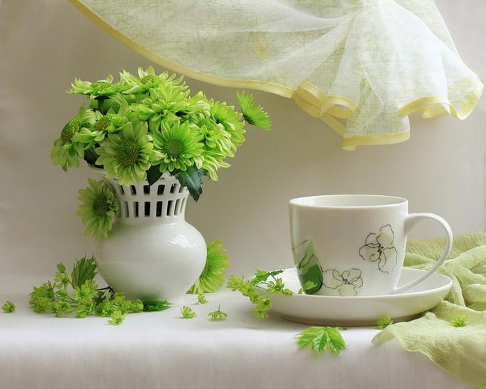 Картинки зеленый чай доброе утро, поздравления начальника
