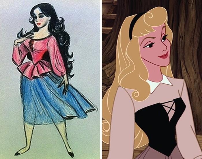 Эволюция популярных диснеевских персонажей