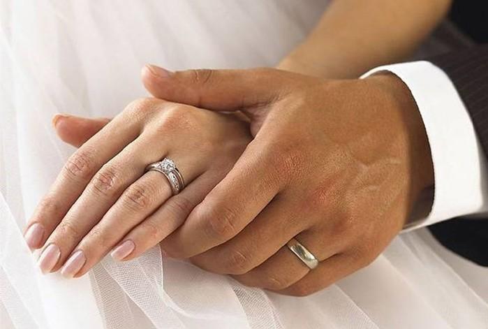 Как вы носите обручальное кольцо