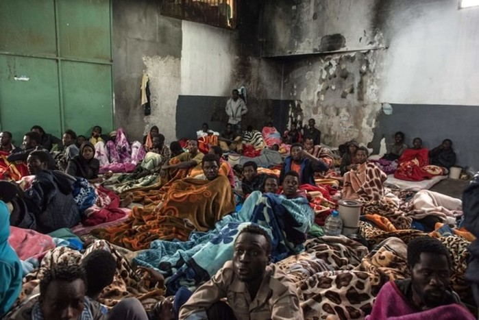 Современная работорговля вЛивии: чтовыдолжны знать— фото и видео