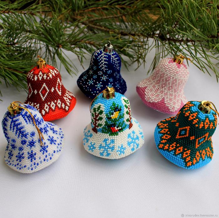 вязание бисером петля подъема в русском и английском способах