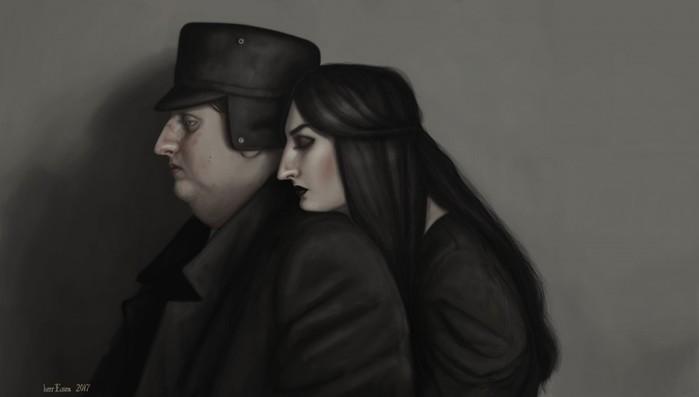 139194327 122217 1205 28 Так Россию еще никто не рисовал! 10 портретов череповецкой художницы