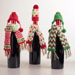 Превью Christmas-Wine-Bottle-Cover-Cap-And-Scarf (600x600, 233Kb)