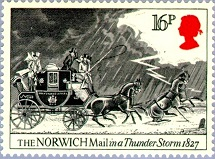 YtGB 1137     Norwich Mail in Thunderstorm.  1827 (215x159, 26Kb)