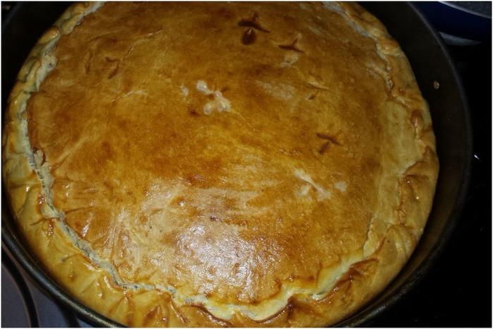 пирог с капустой гость на пороге