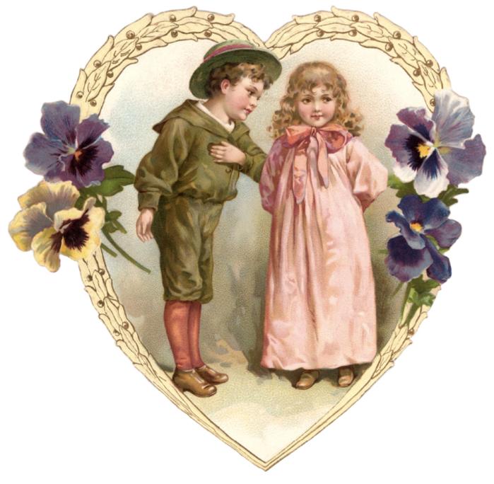 Юбилеем, ретро картинки про любовь для декупажа
