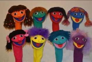 eight puppets
