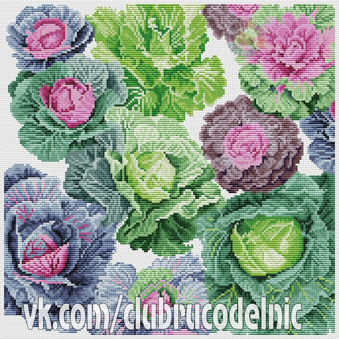 Cabbages Pillow (700x700, 831Kb)