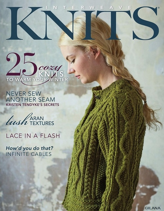 «Interweave Knits — Winter 2012.