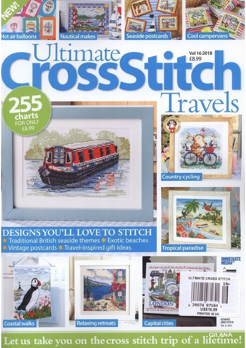 Ultimate Cross Stitch Travels Vol 16 2018.