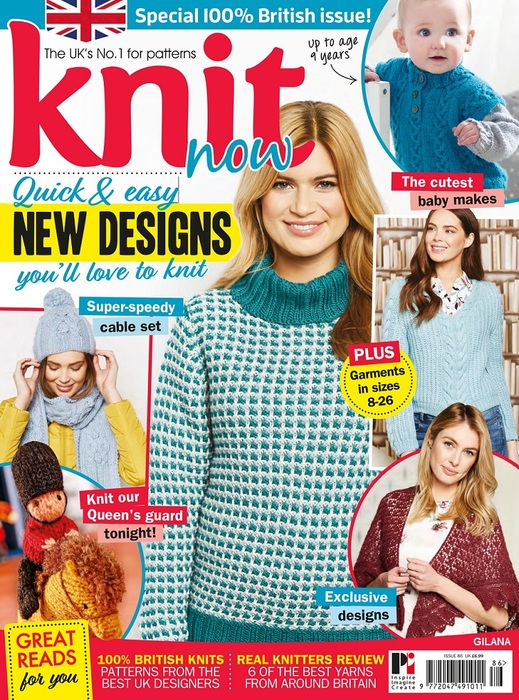 Knit Now - Issue 86, 2018-001 (519x700, 216Kb)