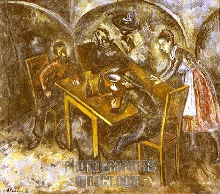 1919 В трактире. (Одесский ХМ) (700x617, 185Kb)
