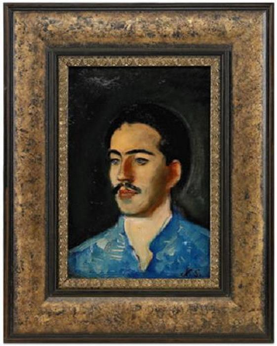 Портрет молодого человека. (Портрет юноши) (561x700, 115Kb)