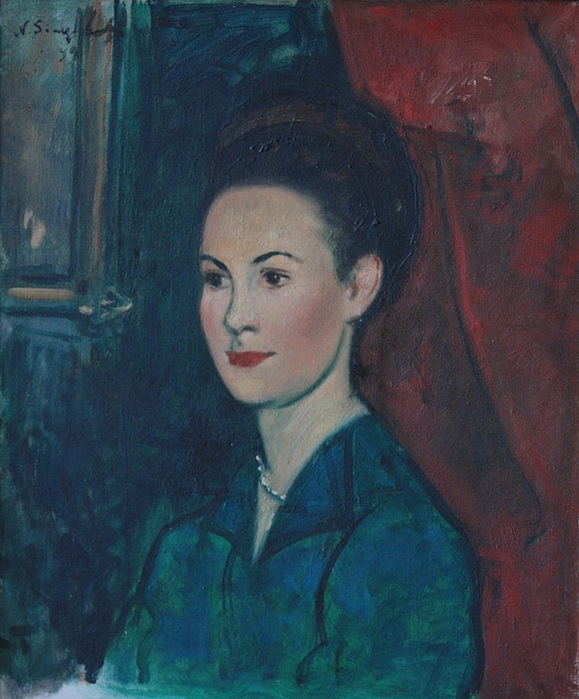 1949 Женский портрет (579x700, 124Kb)