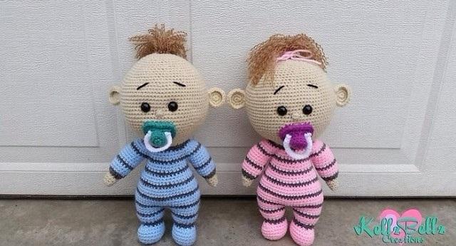 пупс крючком Baby With Dummy By Mariya Kozlova обсуждение на