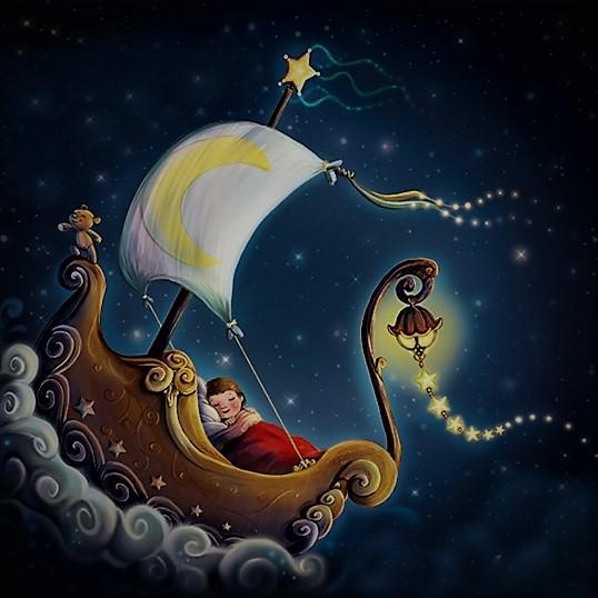Картинки сказочной ночи сладких снов