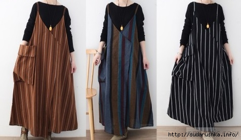 Fine_black_striped_linen_dresses_trendy_plus_size_big_pockets_cotton_dresses_casual_sleeveless_traveling_clothing_5Рё (476x277, 82Kb)