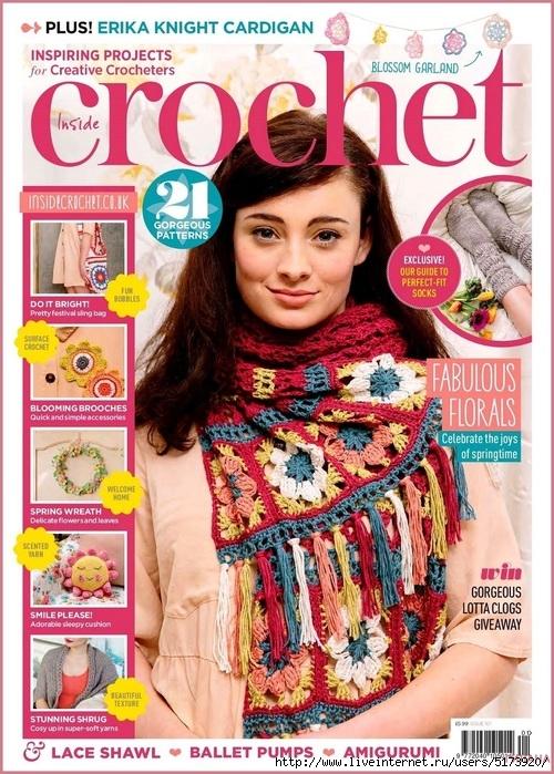 Inside Crochet — Issue 101.