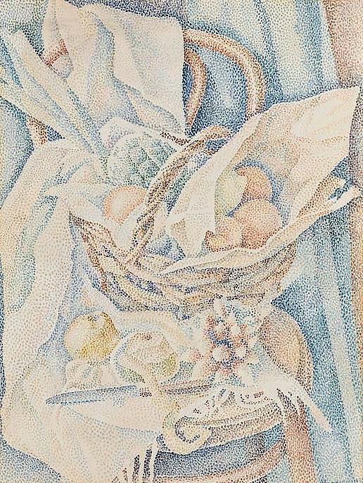 Фруктовый натюрморт (Früchtestillleben). 1930 (516x686, 527Kb)