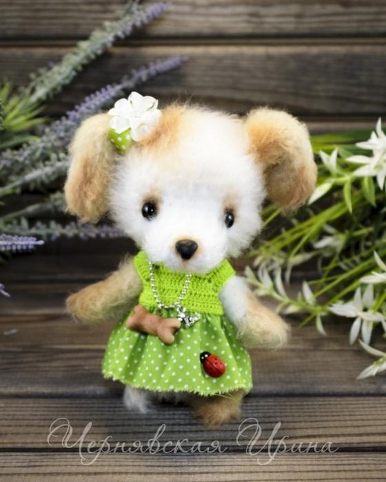 Милая собачка Тявка от Ирины Чернявской