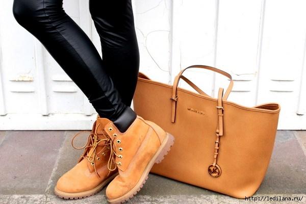 Стильный образ современных девушек и парней с ботинками бренда ... 5b381eac953