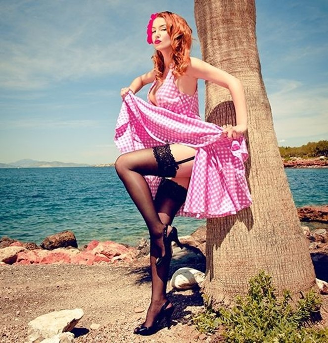 Женщины в стиле пин ап: 60 соблазнительных фотографий