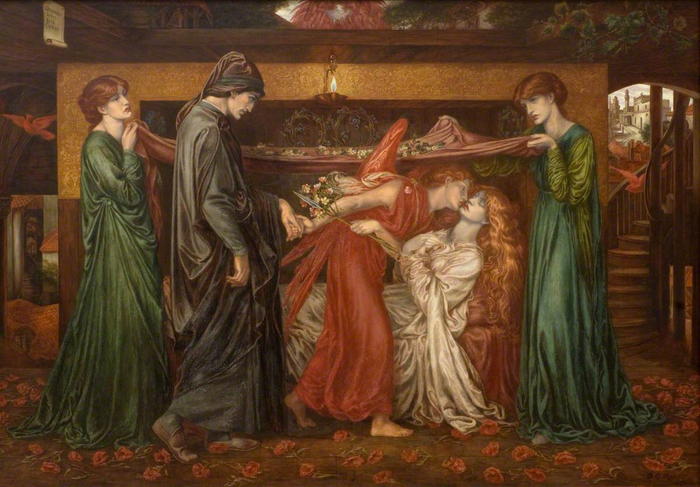 Dante_Gabriel_Rossetti_-_Dantes_Dream_on_the_Day_of_the_Death_of_Beatrice_1880 (700x487, 382Kb)