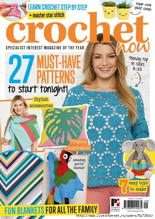 Crochet Now — Issue 29 2018.