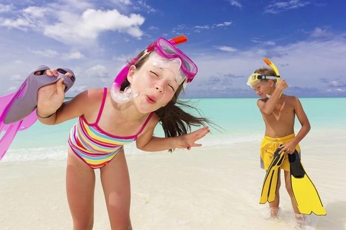 Что взять на море с ребенком: список вещей