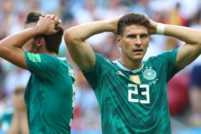 Германия не вышла в плей-офф чемпионата мира по футболу