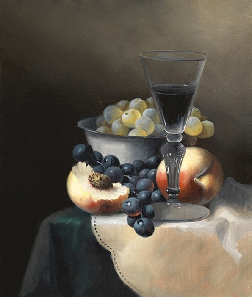 Brian-Davies-Red-Wine-Peaches (500x589, 94Kb)