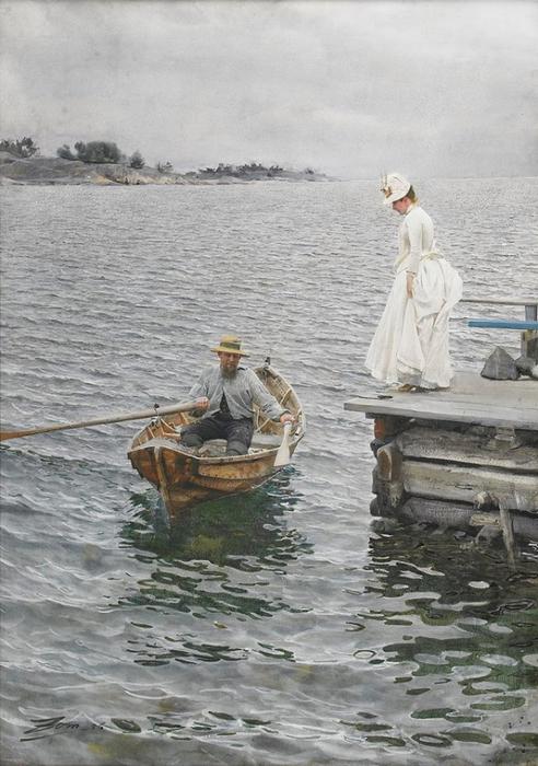 19 АНДРЕС ЦОРН(1860—1920) Летние развлечения (492x700, 315Kb)