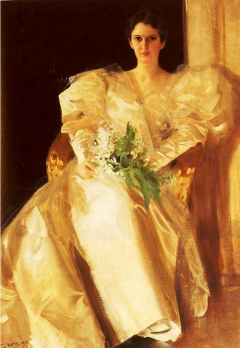 26 Портрет миссис Ричардс Эбен 1899 (482x700, 389Kb)