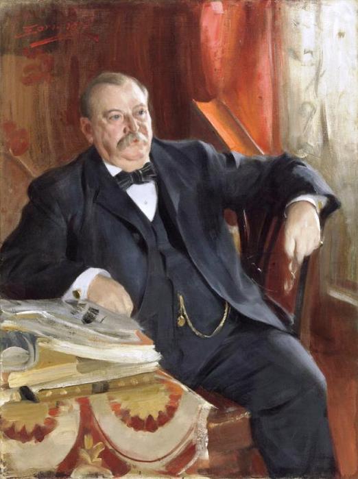 35 Президент Гровер Кливленд 1899 (522x700, 351Kb)