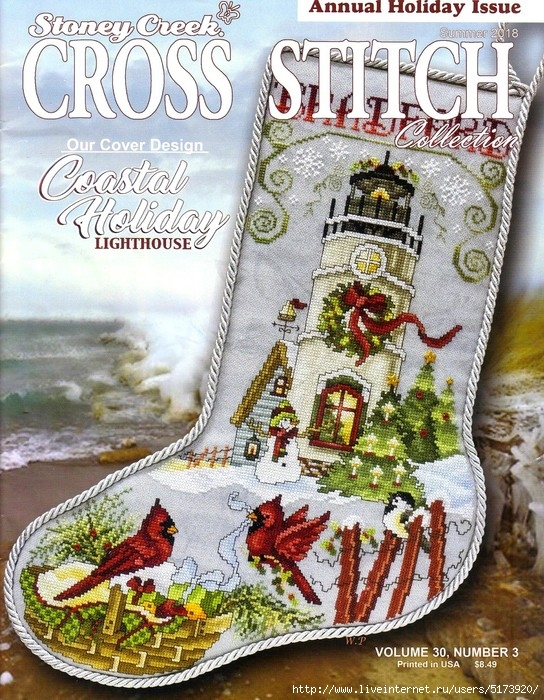 Stoney Creek. Cross Stitch Collection — Summer 2018
