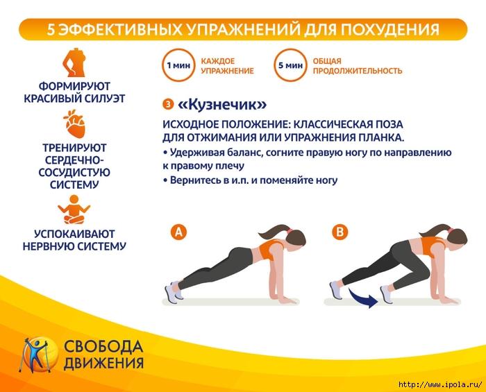 Эффекты Упражнения Для Похудения. Список лучших упражнений для похудения в домашних условиях для женщин