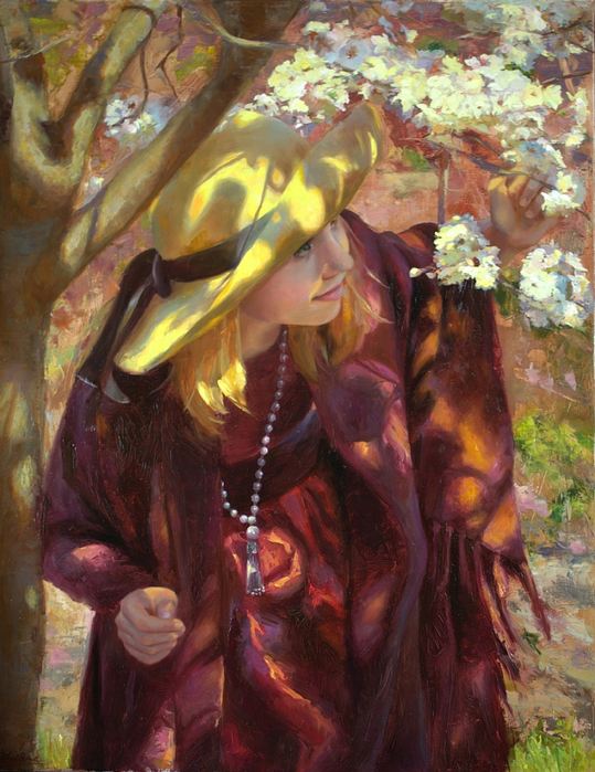 Michelle Murray 1962 - American Figurative painter - Tutt'Art@ (13) (539x700, 492Kb)