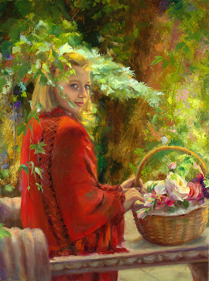 Michelle Murray 1962 - American Figurative painter - Tutt'Art@ (16) (400x550, 418Kb)