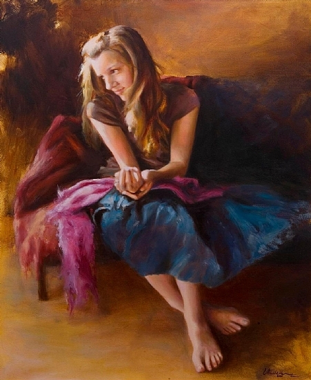 Michelle Murray 1962 - American Figurative painter - Tutt'Art@ (2) (451x550, 253Kb)