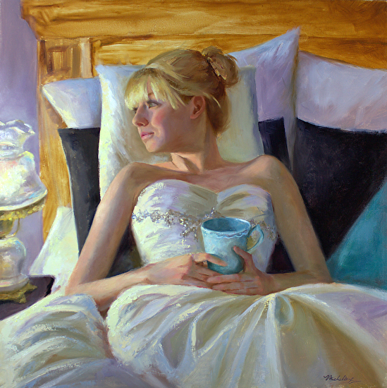 Michelle Murray 1962 - American Figurative painter - Tutt'Art@ (4) (549x550, 465Kb)