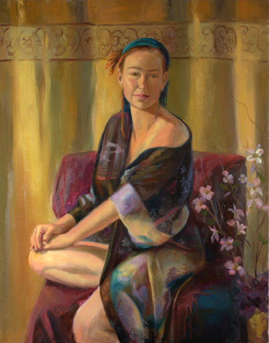 Michelle Murray 1962 - American Figurative painter - Tutt'Art@ (11) (549x700, 359Kb)