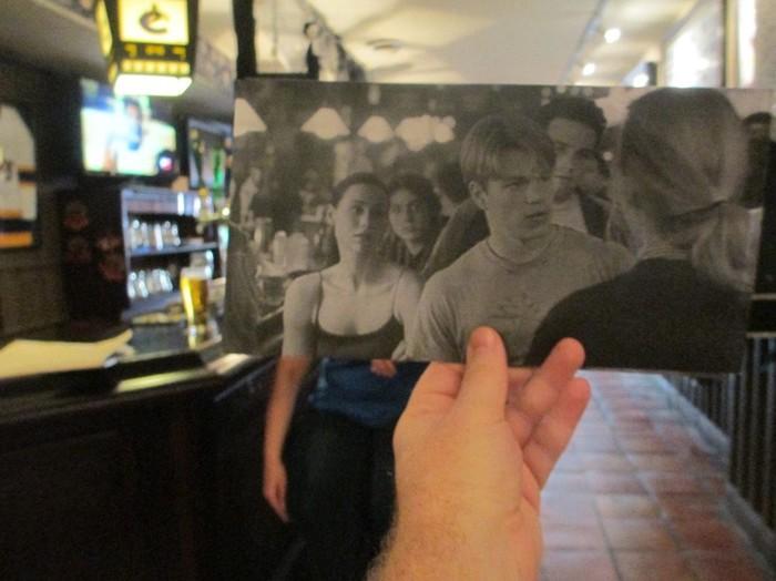 «Фильмография» Кристофера Молони: кадры из фильмов и реальные места